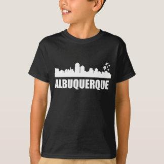 Camiseta Skyline de Albuquerque nanômetro