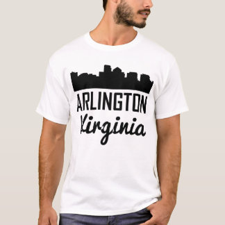Camiseta Skyline de Arlington Virgínia