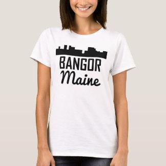Camiseta Skyline de Bangor Maine