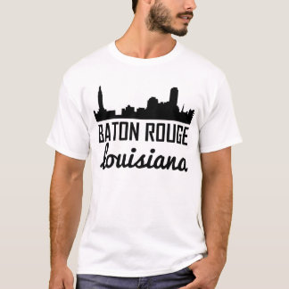 Camiseta Skyline de Baton Rouge Louisiana