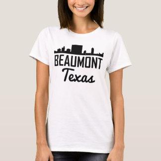 Camiseta Skyline de Beaumont Texas