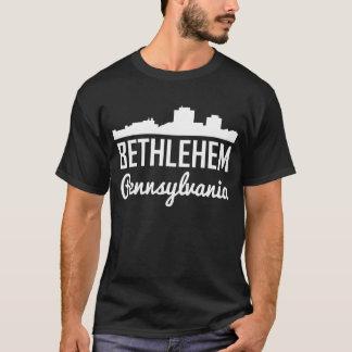 Camiseta Skyline de Bethlehem Pensilvânia