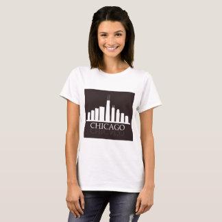 Camiseta skyline de Chicago