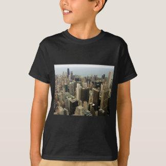 Camiseta Skyline de Chicago de Sears da torre agora Willis