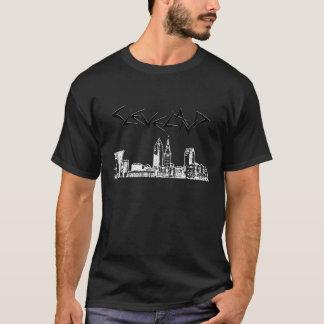 Camiseta Skyline de Cleveland