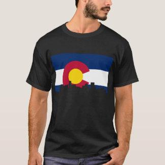 Camiseta Skyline de Colorado