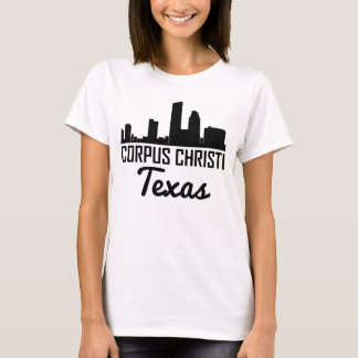 Camiseta Skyline de Corpus Christi Texas