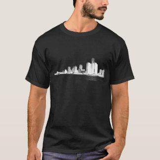 Camiseta Skyline de Detroit