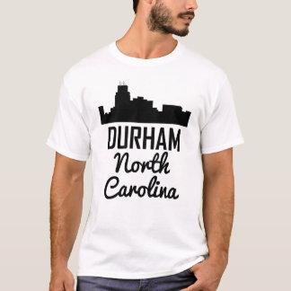 Camiseta Skyline de Durham North Carolina