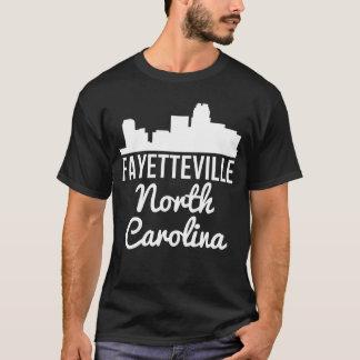 Camiseta Skyline de Fayetteville North Carolina