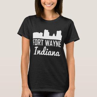 Camiseta Skyline de Fort Wayne Indiana