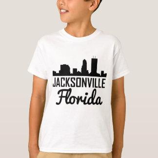Camiseta Skyline de Jacksonville Florida
