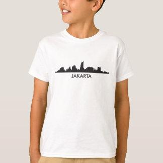 Camiseta Skyline de Jakarta Indonésia
