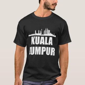 Camiseta Skyline de Kuala Lumpur