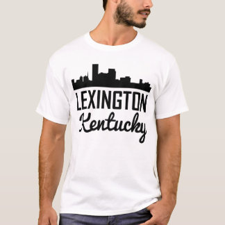 Camiseta Skyline de Lexington Kentucky