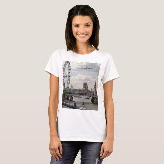 Camiseta Skyline de Londres Inglaterra, Big Ben, olho de