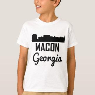 Camiseta Skyline de Macon Geórgia