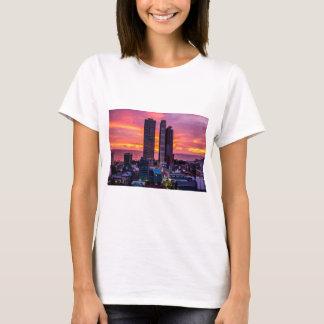 Camiseta Skyline de Manila Filipinas