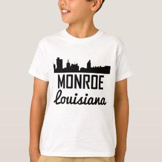 Camiseta Skyline de Monroe Louisiana