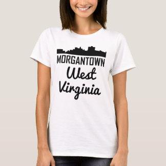 Camiseta Skyline de Morgantown West Virginia
