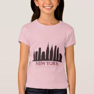 Camiseta skyline de New York