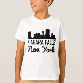 Camiseta Skyline de Niagara Falls New York