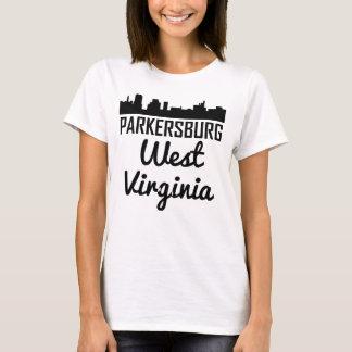 Camiseta Skyline de Parkersburg West Virginia