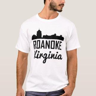 Camiseta Skyline de Roanoke Virgínia