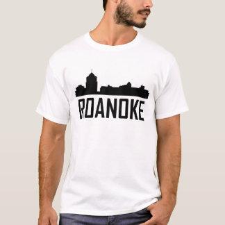 Camiseta Skyline de Roanoke Virginia City