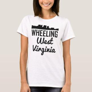 Camiseta Skyline de roda de West Virginia