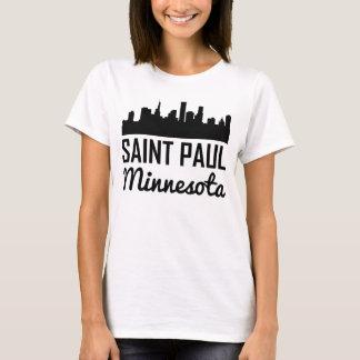 Camiseta Skyline de Saint Paul Minnesota