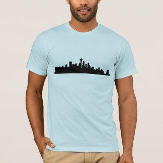 Camiseta Skyline de Seattle