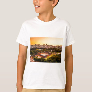 Camiseta Skyline de Seoul Coreia do Sul