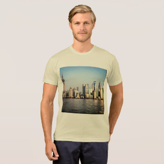 Camiseta Skyline de Shanghai