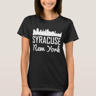 Camiseta Skyline de Siracusa New York