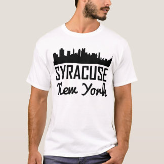 Camiseta Skyline de Siracusa New York