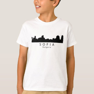 Camiseta Skyline de Sófia Bulgária