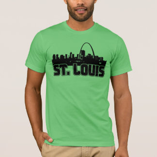 Camiseta Skyline de St Louis