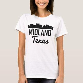 Camiseta Skyline de Texas do Midland