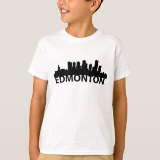 Camiseta Skyline do arco de Edmonton Alberta Canadá