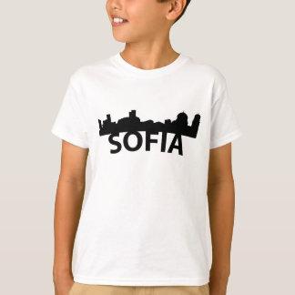 Camiseta Skyline do arco de Sófia Bulgária