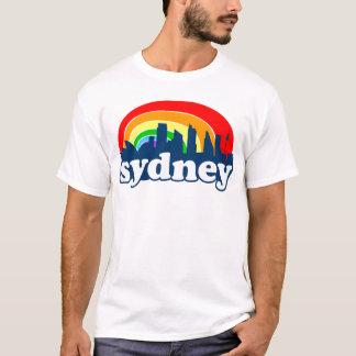 Camiseta Skyline do arco-íris de Sydney