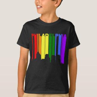 Camiseta Skyline do orgulho gay de Philadelphfia