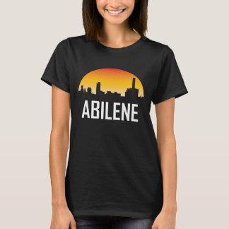 Camiseta Skyline do por do sol de Abilene Texas