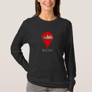 Camiseta Skyline do t-shirt de Dallas