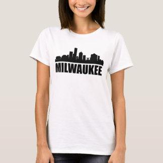 Camiseta Skyline dos WI de Milwaukee