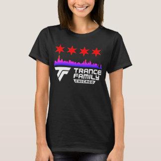 Camiseta Skyline & estrelas da cidade da família do Trance