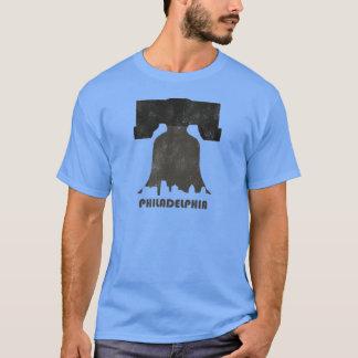 Camiseta Skyline-Homens retros de Philadelphfia