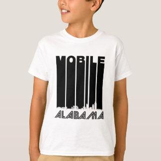 Camiseta Skyline móvel retro de Alabama