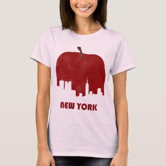 Camiseta Skyline-Mulheres retros de New York
